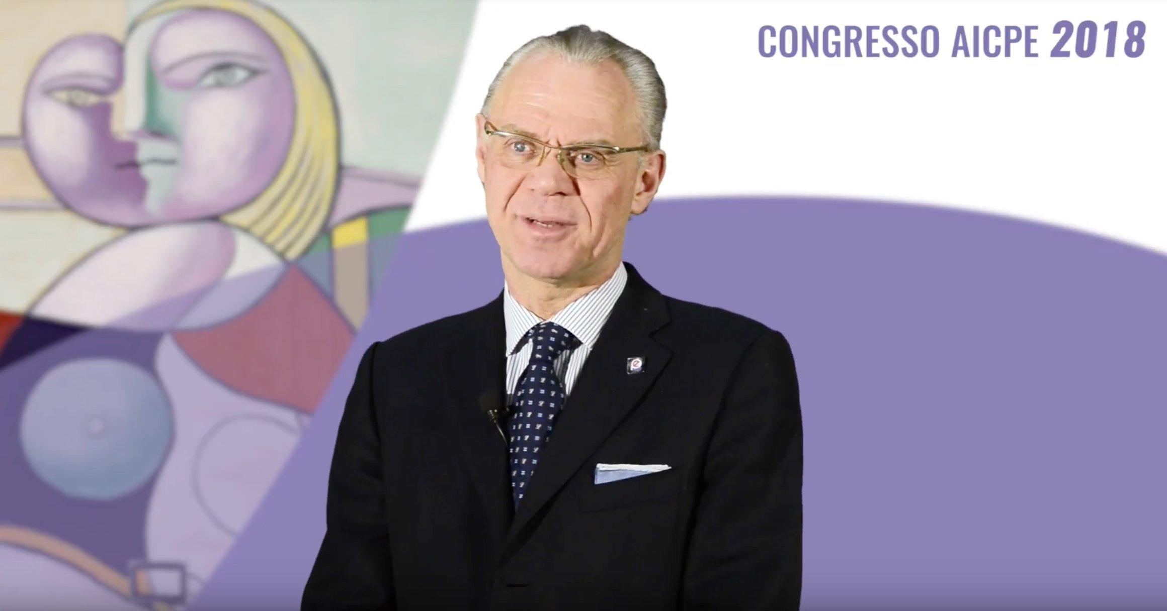 AICPE - Saluto del Past President Eugenio Gandolfi