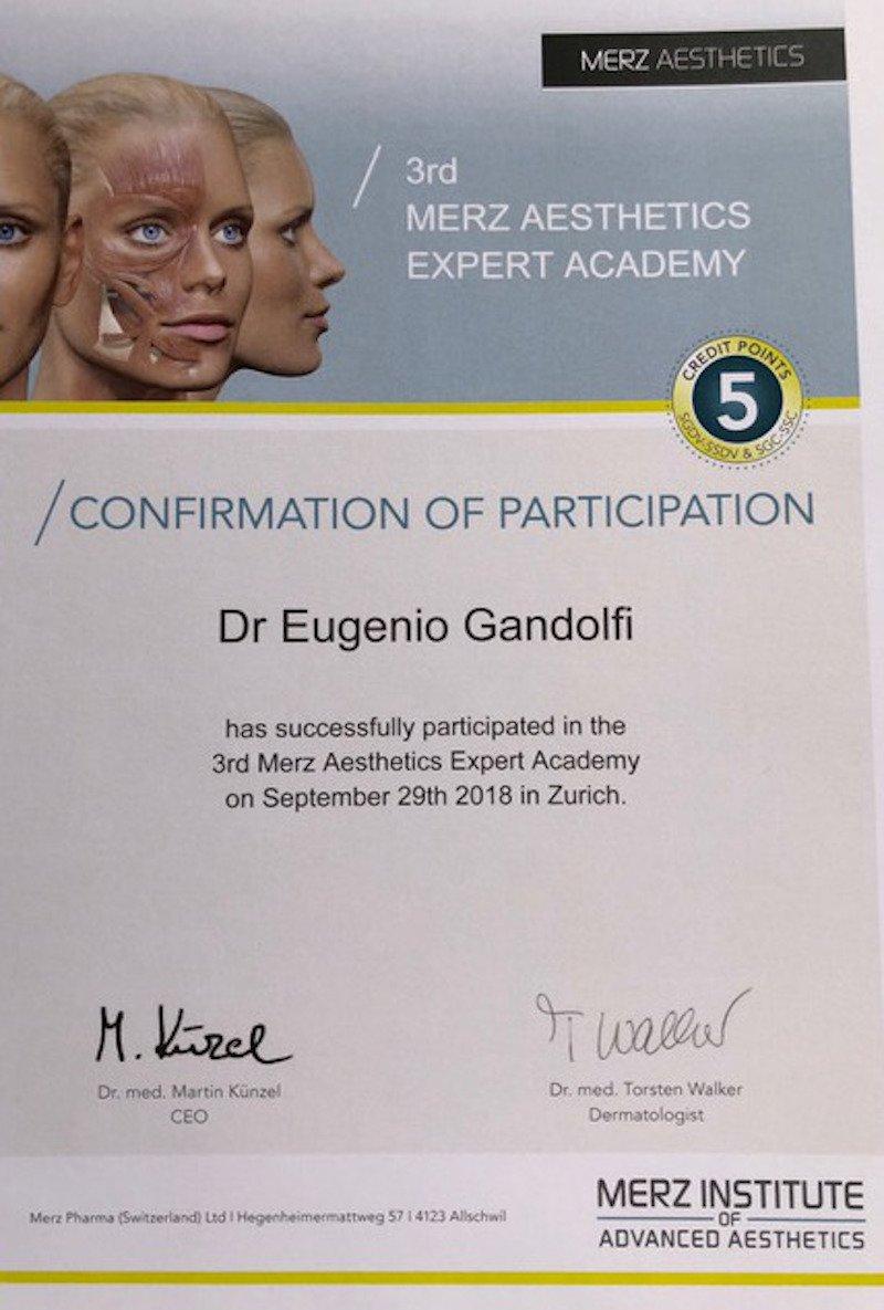 28-29 Settembre 2018 Zurigo certificate